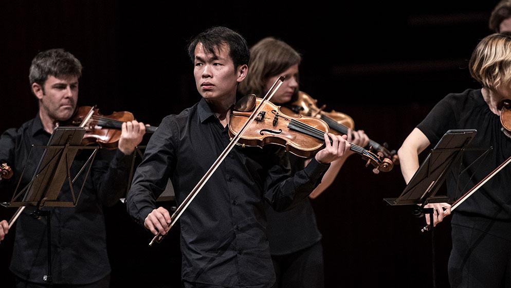 Photo of ACO Violinist Ike See