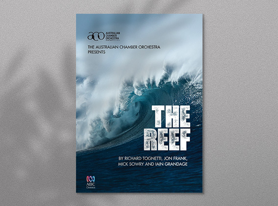 The cover of the ACO's film project 'The Reef'