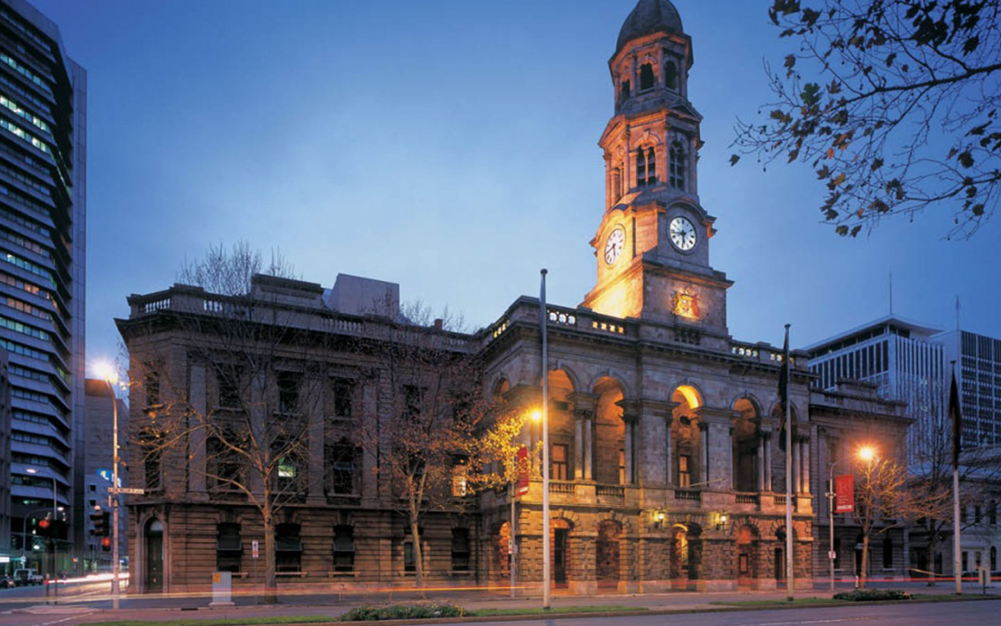 The Exterior of the Adelaide Town Hall
