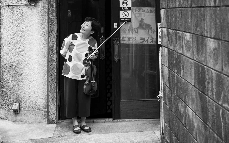 ACO Violinist Aiko Goto in Tokyo