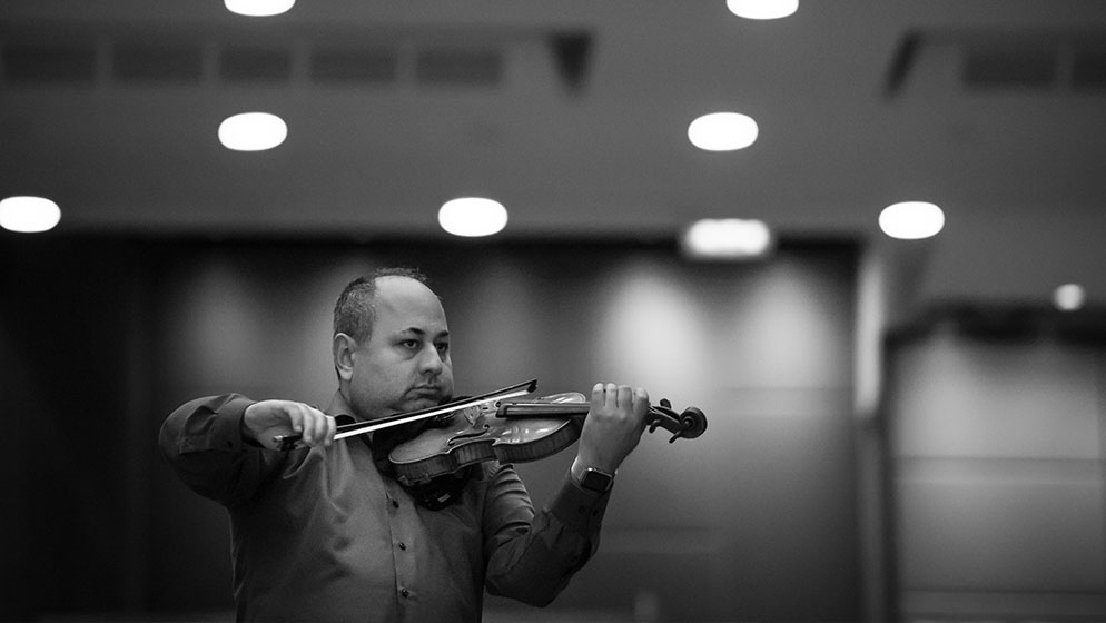 Photo of ACO Violinist Ilya Isakovich