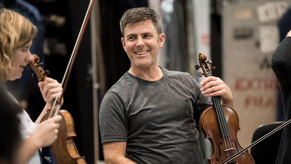 Photo of ACO Violinist Mark Ingwersen