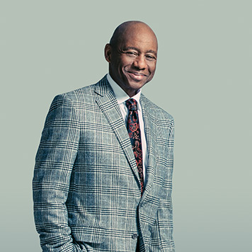 A portrait of American Saxophonist Branford Marsalis