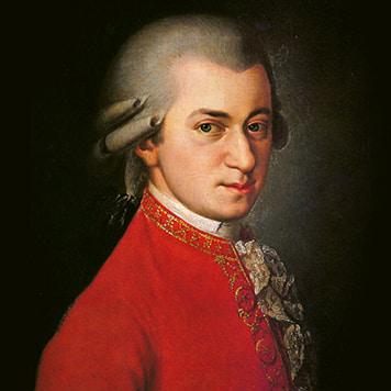 Composer Wolfgang Amadeus Mozart