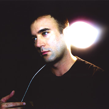 A portrait of Sufjan Stevens